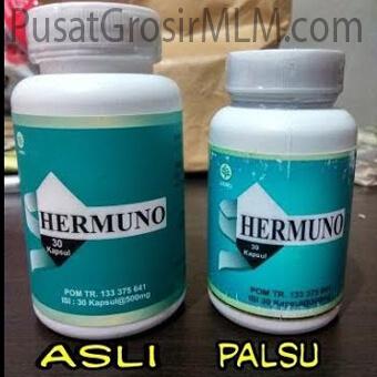 perbedaan hermuno asli dan palsu
